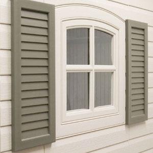 persienne de fenêtre extérieure en aluminium