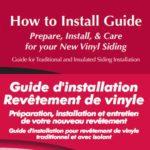 Guide d'installation pour le Revêtement de vinyle