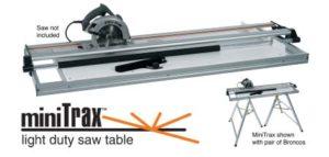 Tapco Table de scie Minitrax